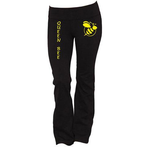 Queen Bee Yoga Pants - Butterfly Trade