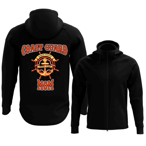 Coast Guard Mom Full Zip Hoodie (2017 Edition)