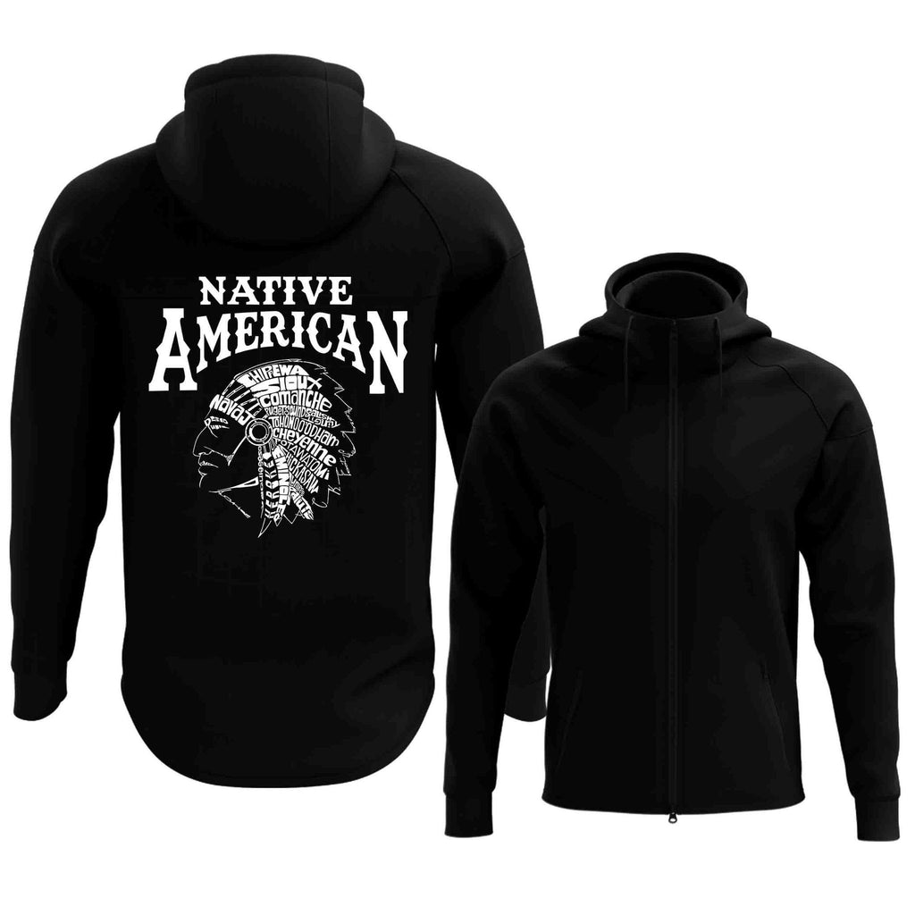 Native American Full Zip Hoodie (2017 Edition)