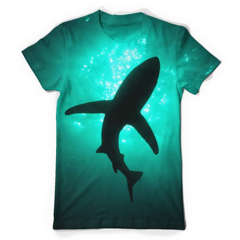 Shark All Over Print T-Shirt