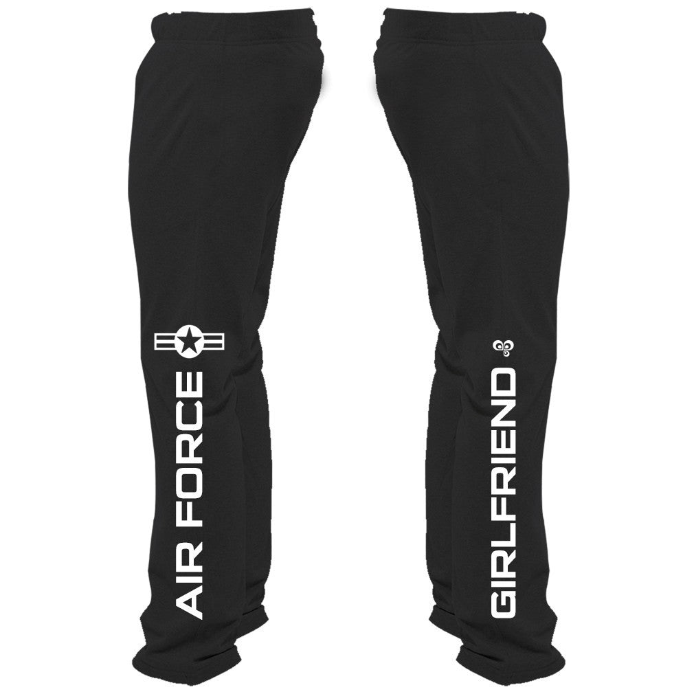 Air Force Girlfriend Sweatpants - Butterfly Trade