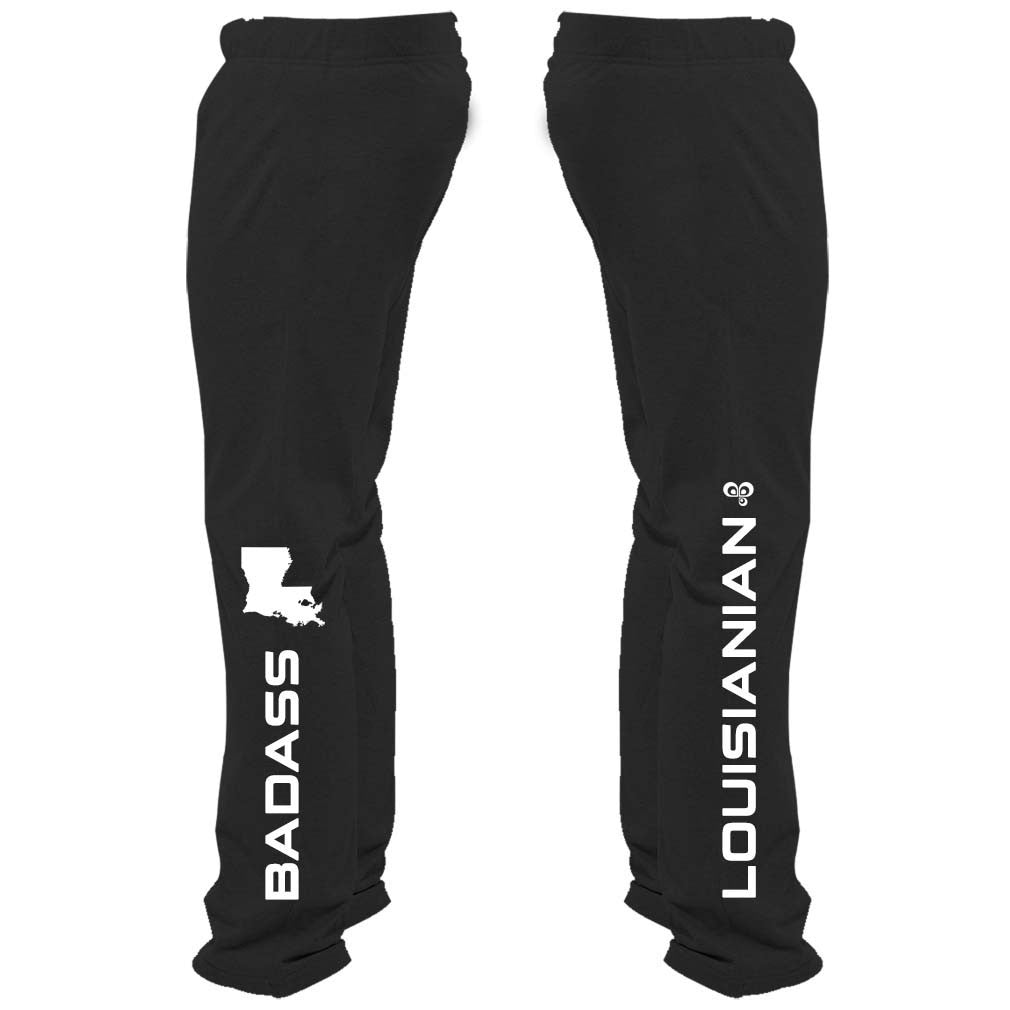 Badass Louisianian Sweatpants - Butterfly Trade