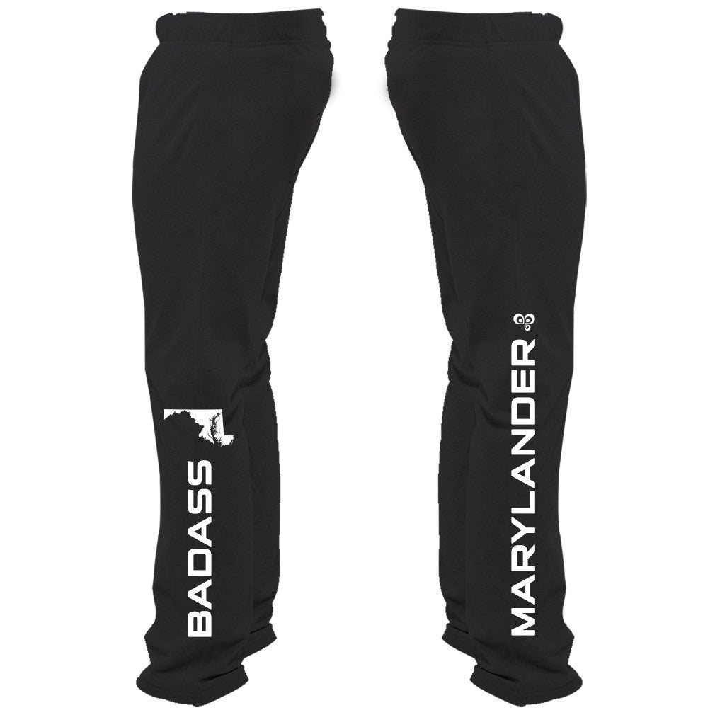 Badass Marylander Sweatpants - Butterfly Trade