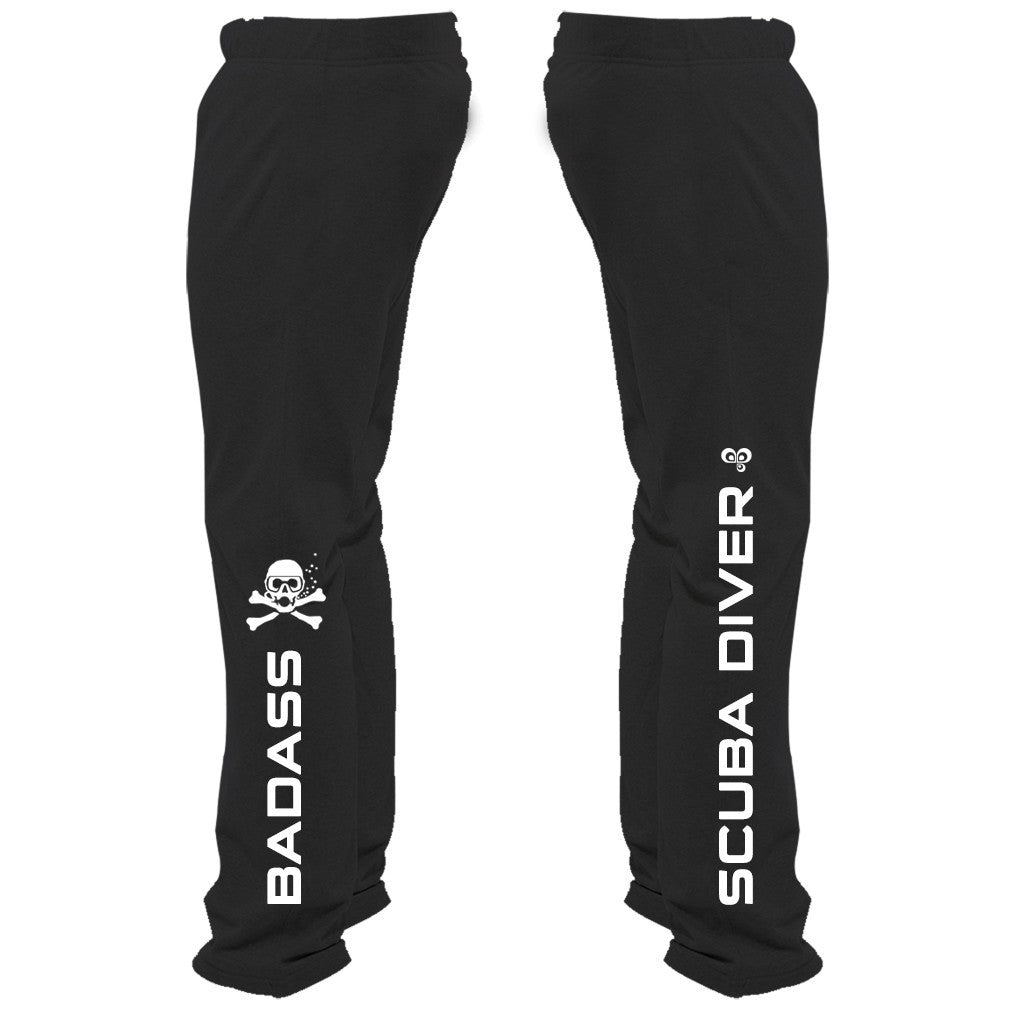 Badass Scuba Diver Sweatpants - Butterfly Trade