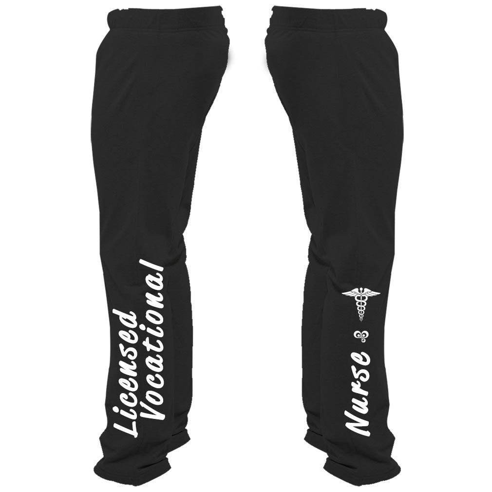 Licensed Vocational Nurse Sweatpants - Butterfly Trade