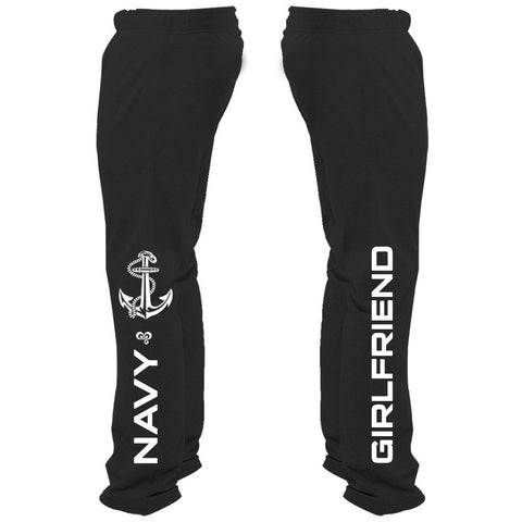Navy Girlfriend Sweatpants