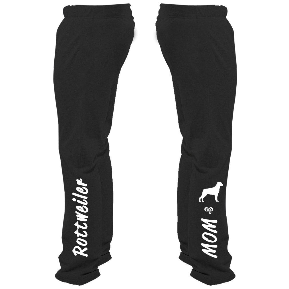 Rottweiler Mom Sweatpants - Butterfly Trade