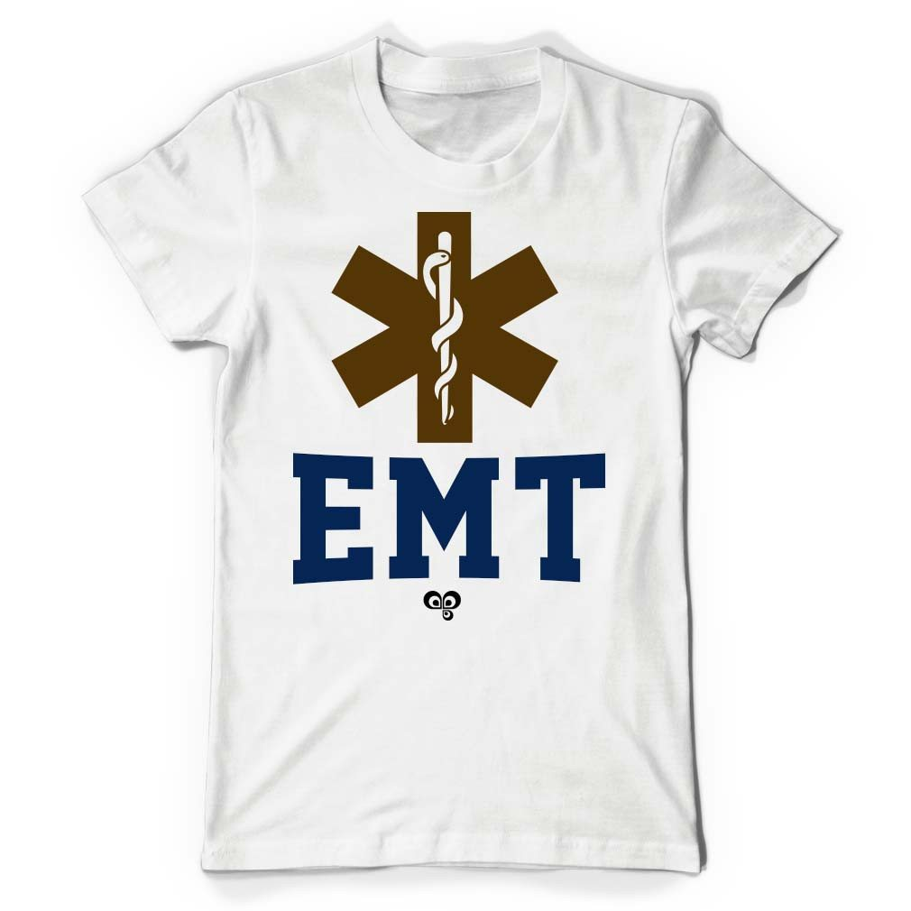 EMT White T Shirt - Butterfly Trade