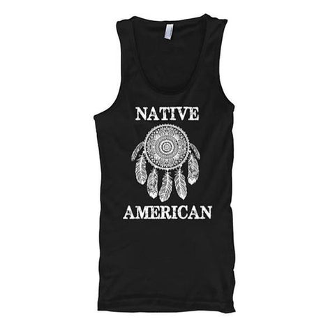 Native American Dream Catcher Tank Tops