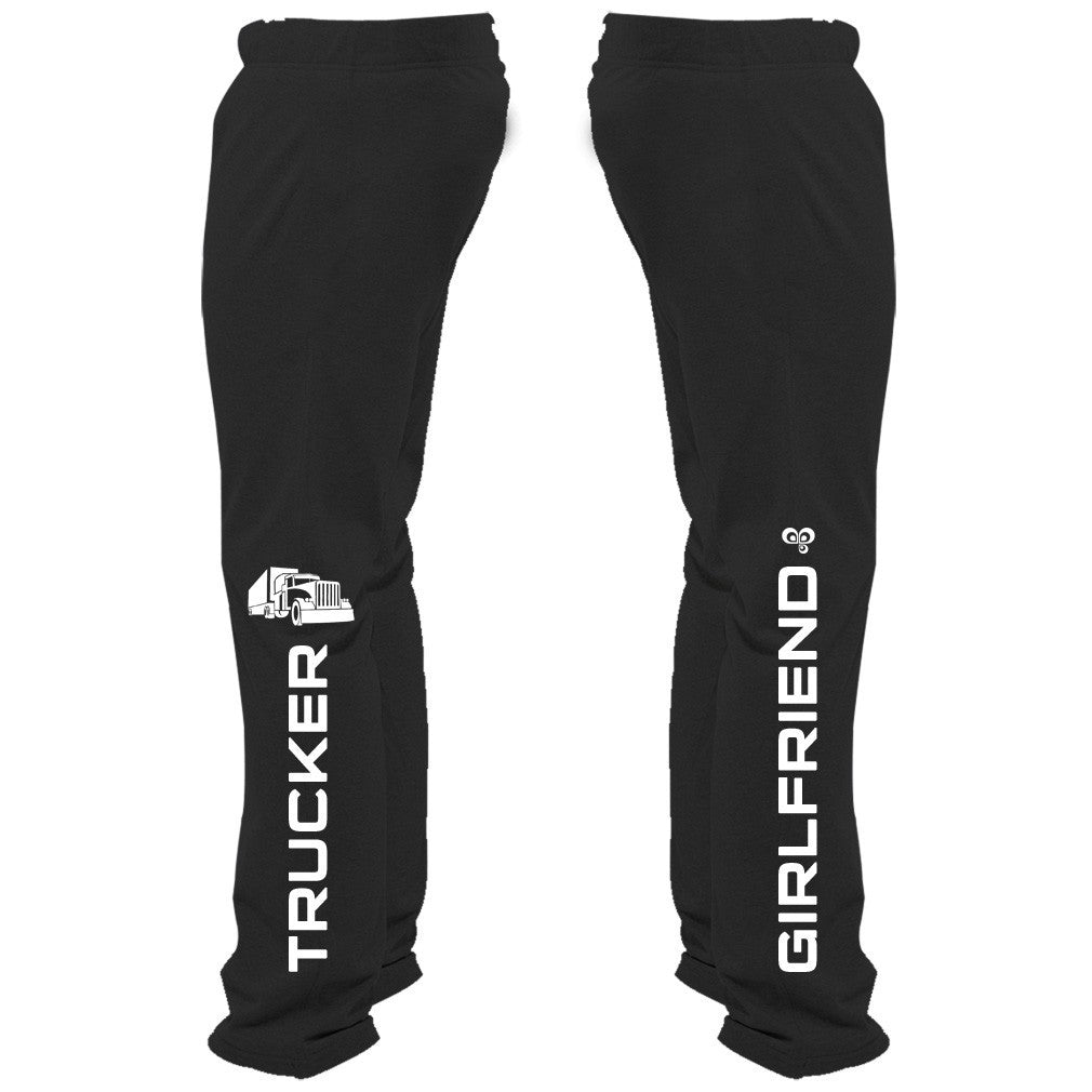 Trucker Girlfriend Sweatpants - Butterfly Trade