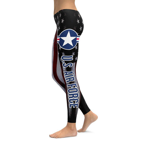 U.S.Air Force All Over Print Leggings
