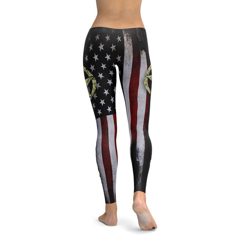U.S.Army All Over Print Leggings