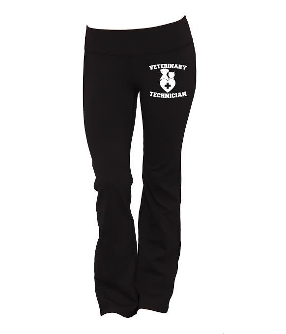 Veterinary Technician Yoga Pants - Butterfly Trade