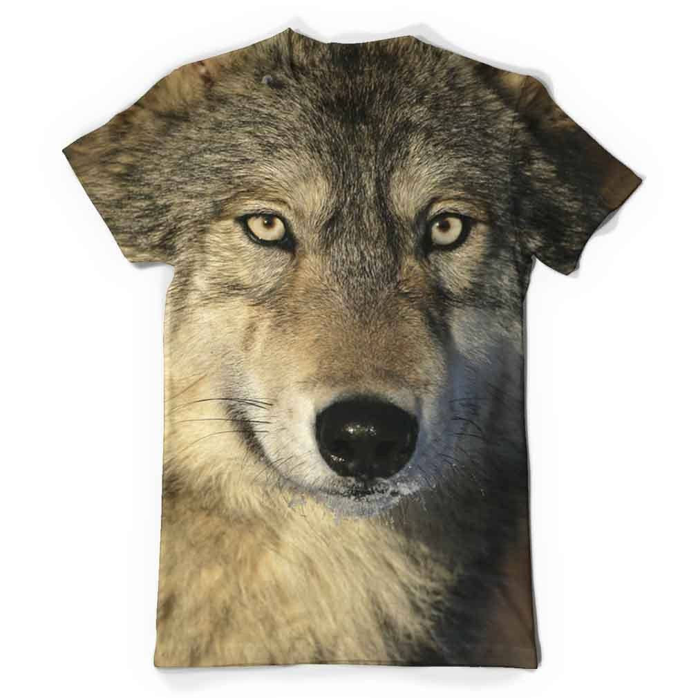 Wolf Eyes All Over Print T-Shirt