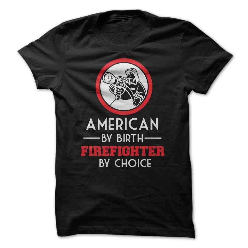 American By Birth Firefighter By Choice - Butterfly Trade