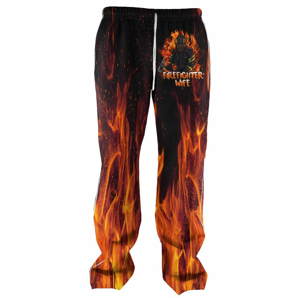 Firefighter Wife All Over Print Sweatpants