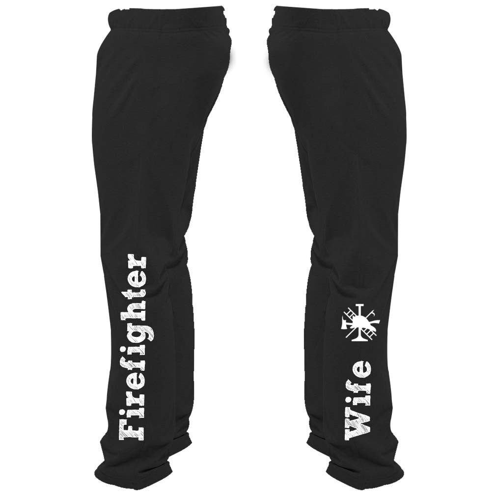 Firefighter Wife Sweatpants - Butterfly Trade