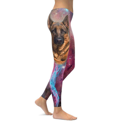 German Shepherd All Over Print Leggings