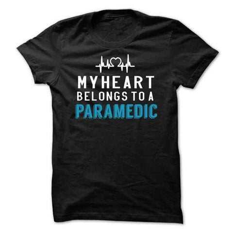 My Heart Belongs To A Paramedic