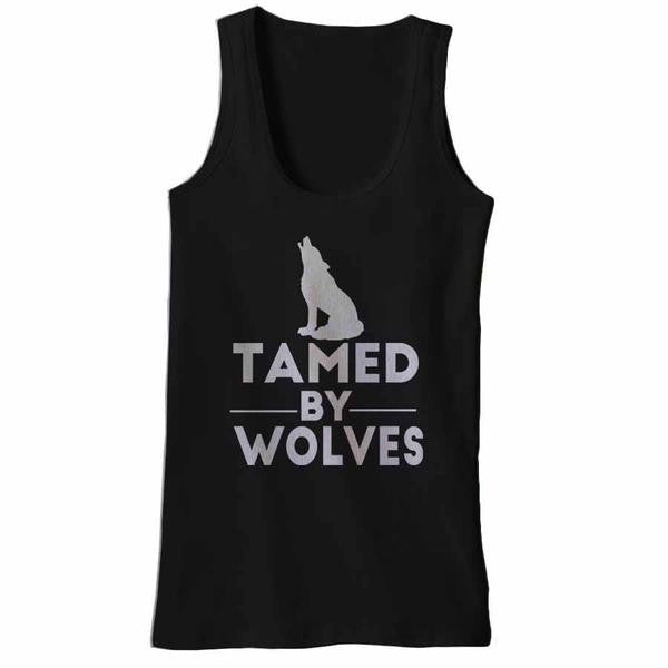 Tamed By Wolves Tank Tops - Butterfly Trade