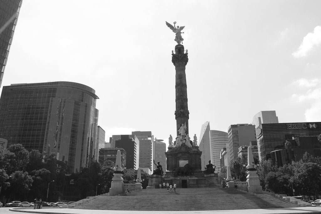Pueblo Jewelry - The Angel of Independence, Mexico City - Pueblo Travels