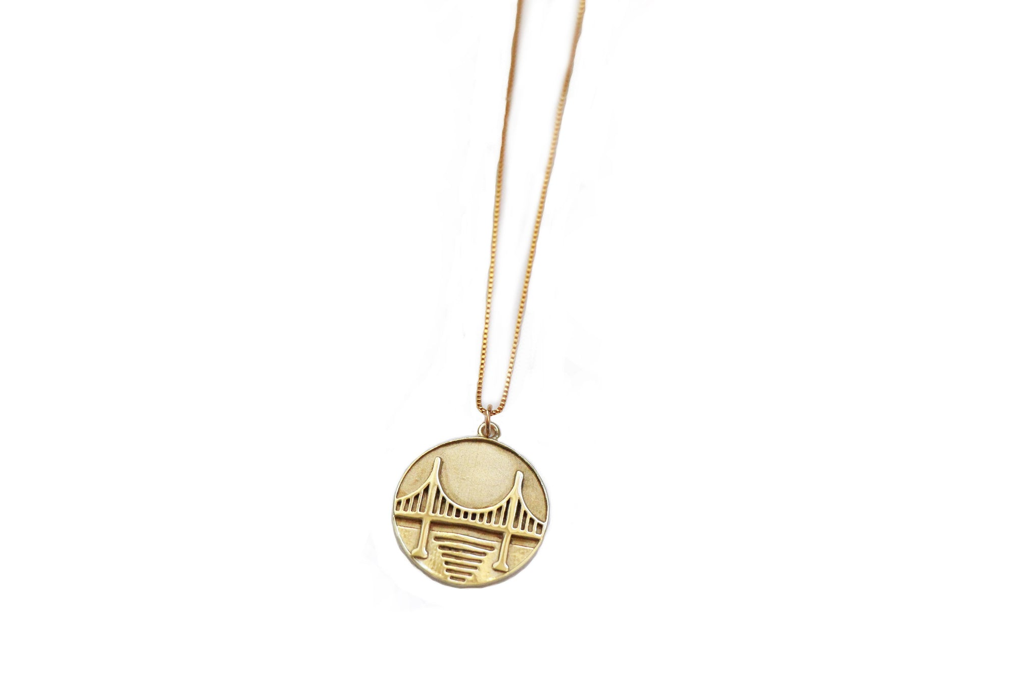 Pueblo Jewelry, Gold Coin Necklace