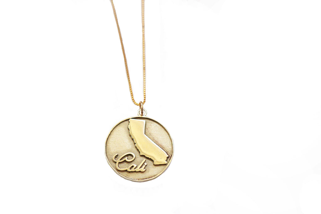 California Coin Necklace