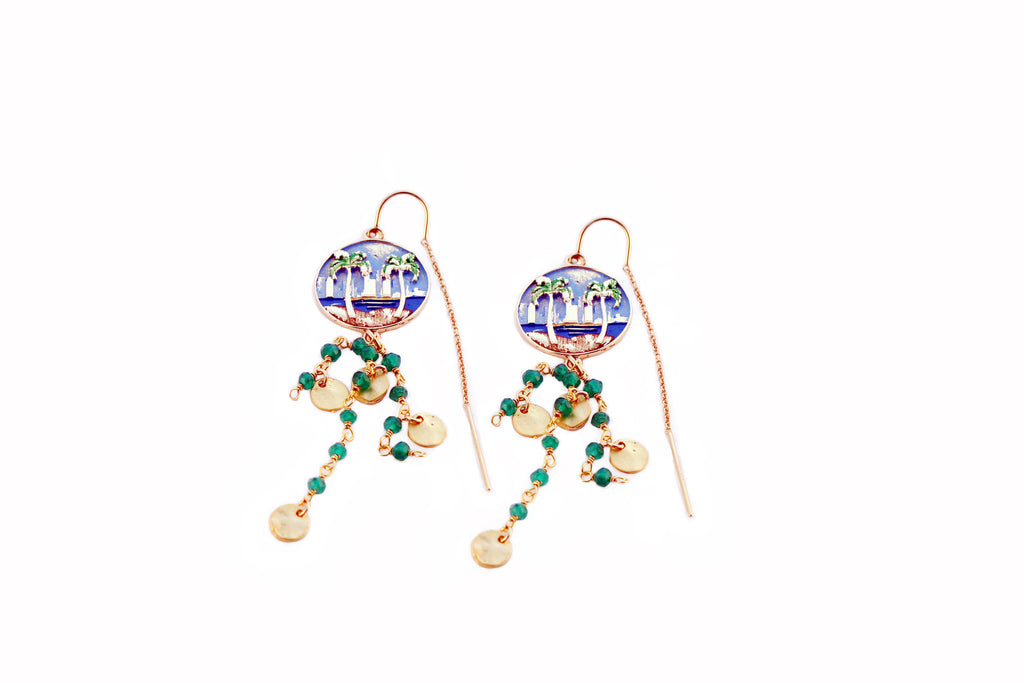 Coastal Threader Earrings