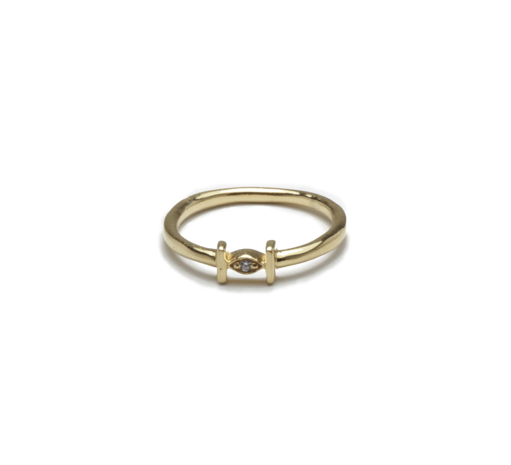 Pueblo Jewelry Popular Gold Stacking Ring