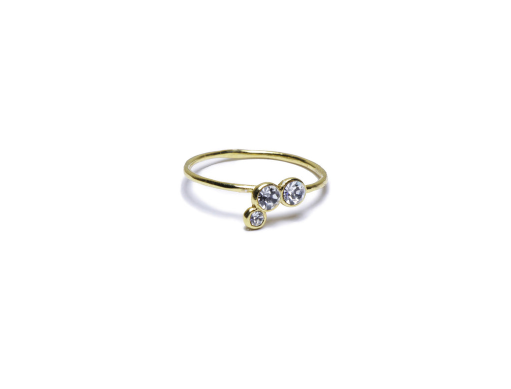 Pueblo Jewelry - Dainty Gold Bella Ring