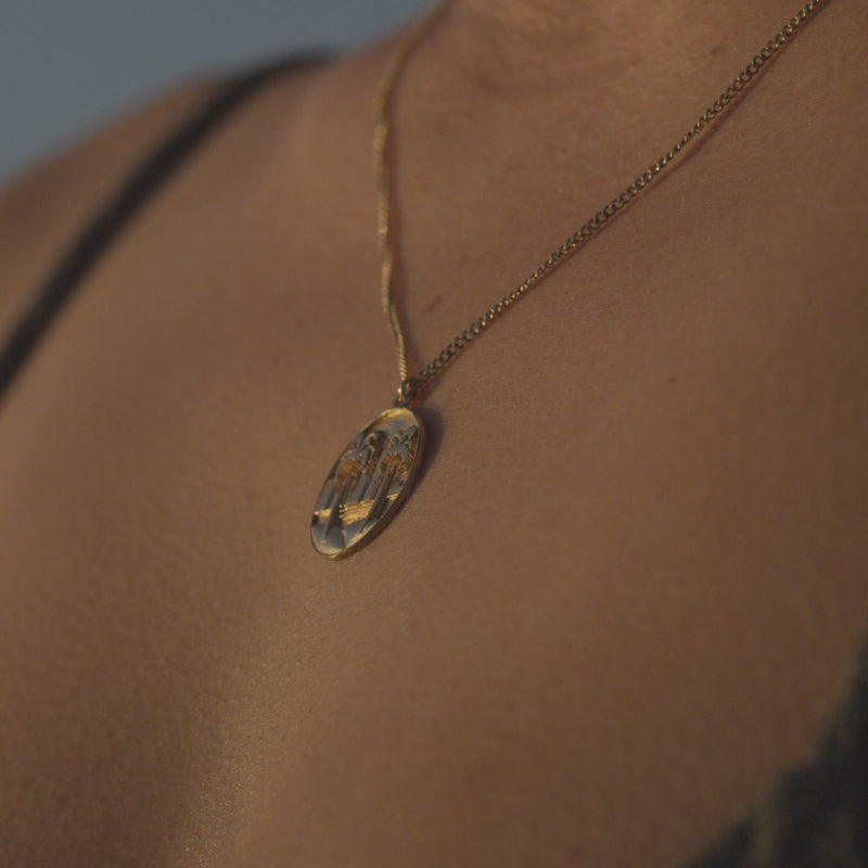 Coastal Coin Necklace