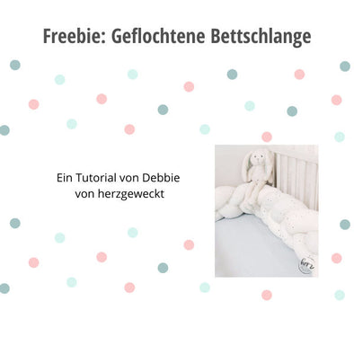 Freebie Tutorial Bettschlange