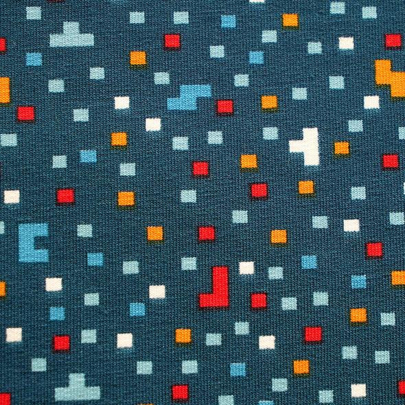 Fairtrade Bio French Terry Pixel