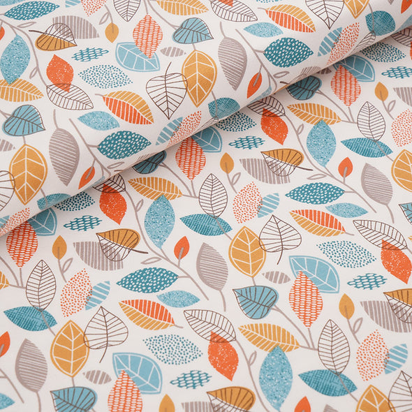 Fairtrade Biojersey Autumn Leaves