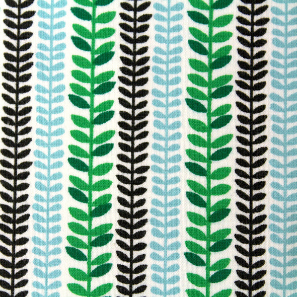 Fairtrade Biojersey Cool Jungle Leaves