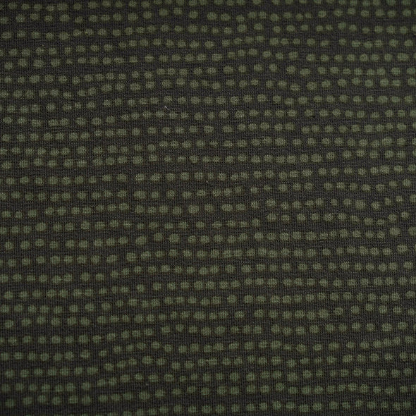 Fairtrade Biojersey Dotted Line Khaki