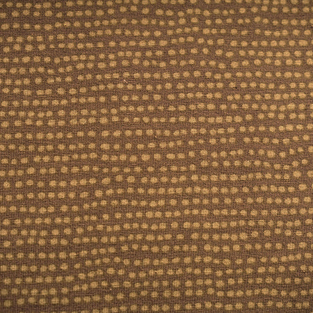 Fairtrade Biojersey Dotted Line Taupe