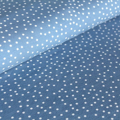 Fairtrade Biojersey Dotties Stonewashed