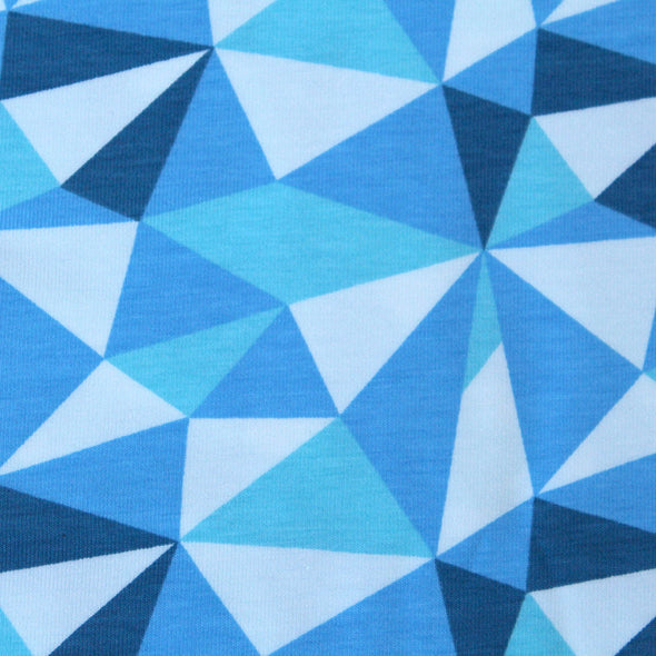 Fairtrade Biojersey Geometrical
