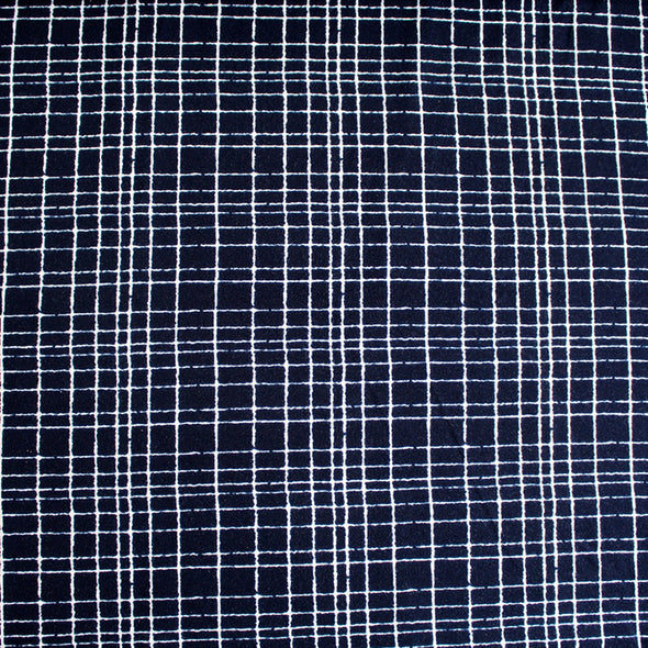 Fairtrade Biojersey like a grid