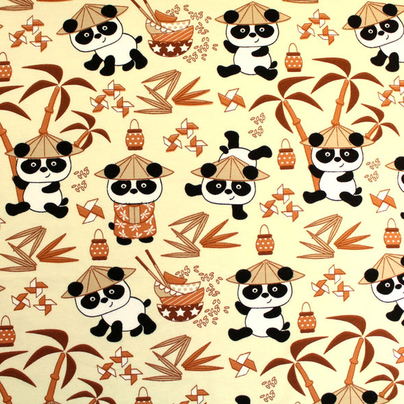 Fairtrade Biojersey Panda Boys