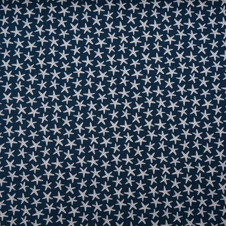 Fairtrade Biojersey Starfish Blau