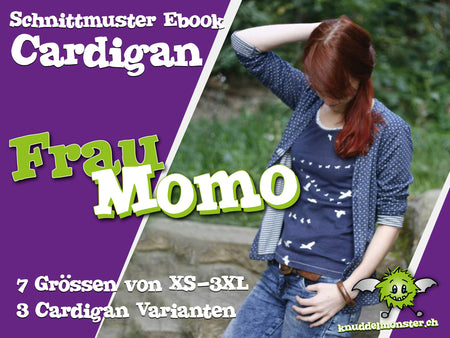 Ebook Cardigan Frau Momo