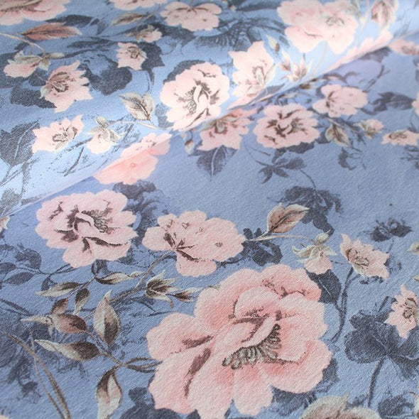 Bio Tencel Troochy Flowers Pastell