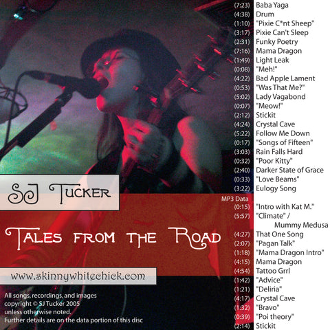 S.J. Tucker - Tales From The Road - live album 2005