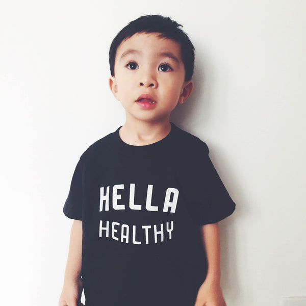 Hella Healthy Baby and Toddler Tee
