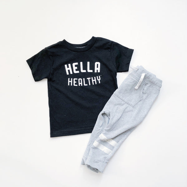 Hella Healthy Kids Tee