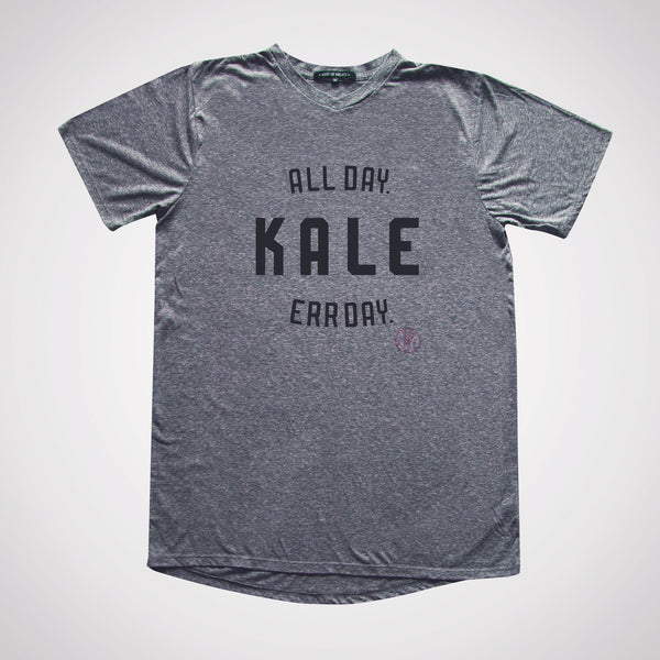 Kale. All Day. Err Day. Slim Gym V-neck