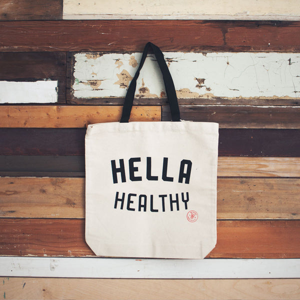 Tote Bag (Hella Healthy)