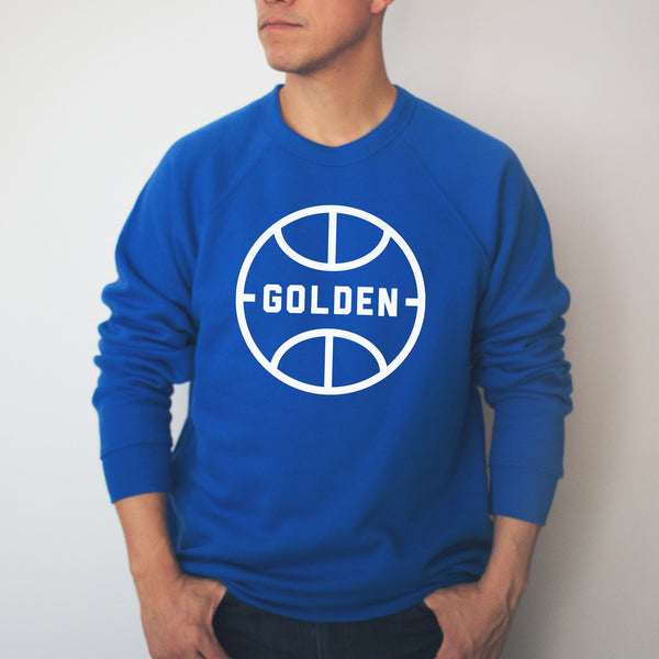 Golden Vintage Ball Crewneck